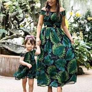 The Children's Place Dresses - The Children's Place    Tropical Dress sz L